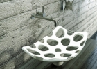 Ethereal Hole-Punched Basin