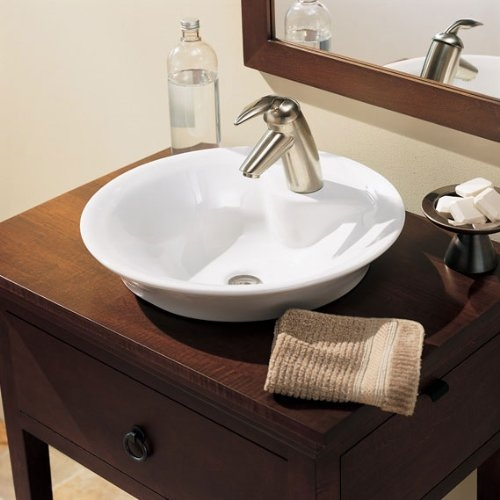 Above The Counter Bathroom Sinks : Bathroom Sinks - Above Counter American Standard Morning Bathroom Sink